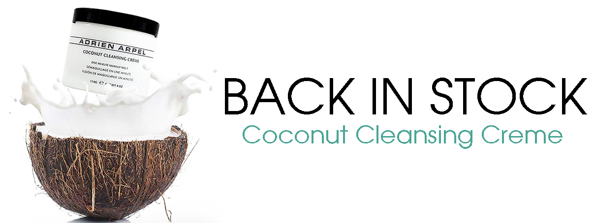 Coconut Cleanser Back In Stock